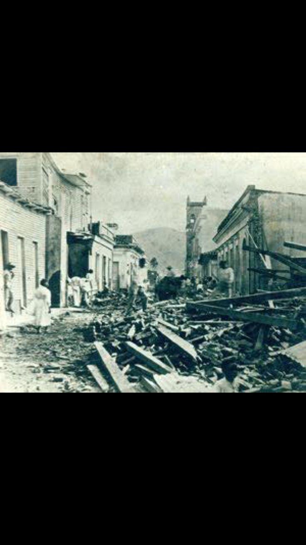 8 de agosto del 1899, huracán San Ciriaco, Puerto Rico.