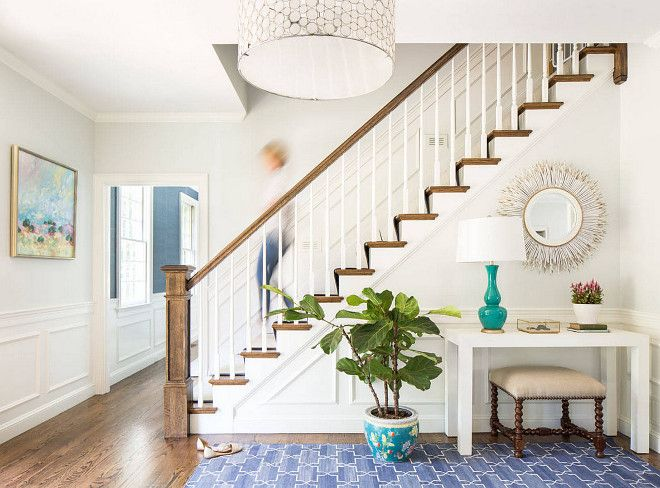 188 best images about foyers entries and stairs on pinterest for Foyer rugs decorating