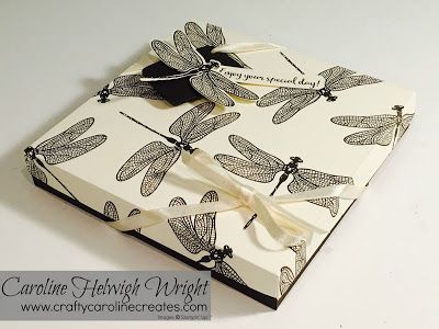 CraftyCarolineCreates: Dragonfly Dreams Gift Box - New Stampin' Up Products Preview