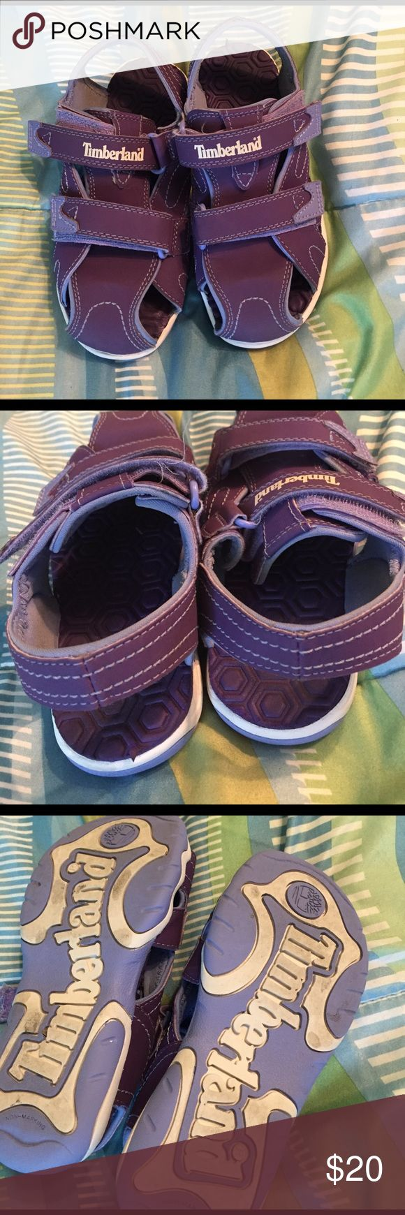 Girls Timberland water shoes Purple water shoes for girls Sz 13. Worn a few times. See all photos. Great condition Timberland Shoes Sandals & Flip Flops