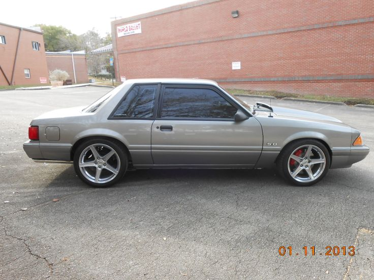 Silver Fox Mustang 5.0L
