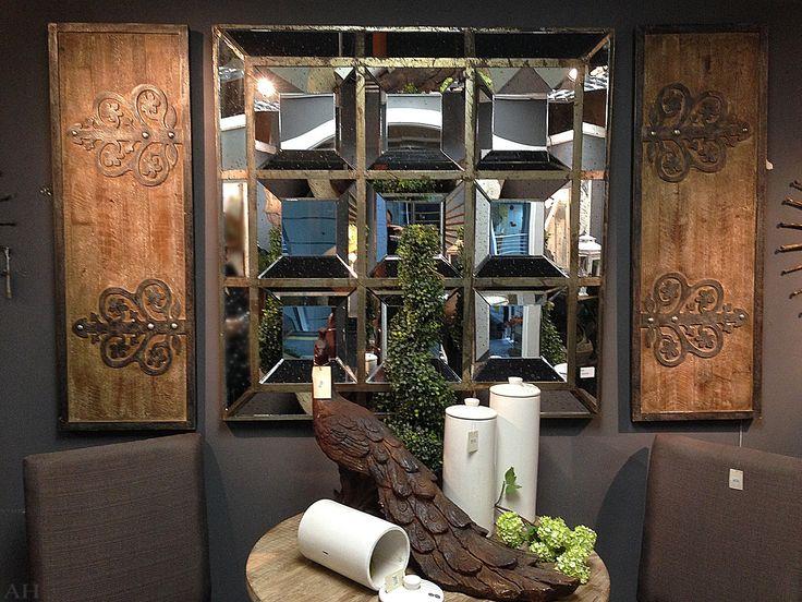 Купить зеркало настенное 117 х 117 см с доставкой: цены, фото, описание.