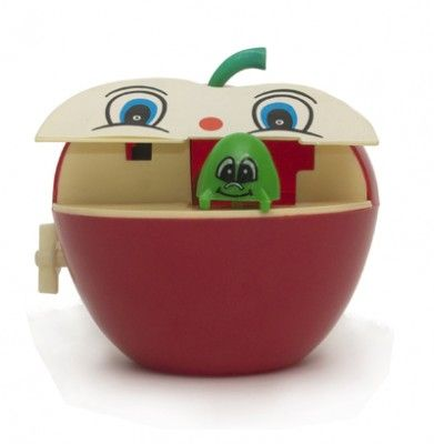 Spardose Apfel und Wurm