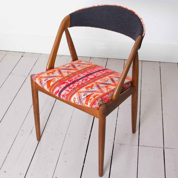 Huanca Chair 1960's Danish Design by Kai Kristiansen by ARumFellow, £345.00