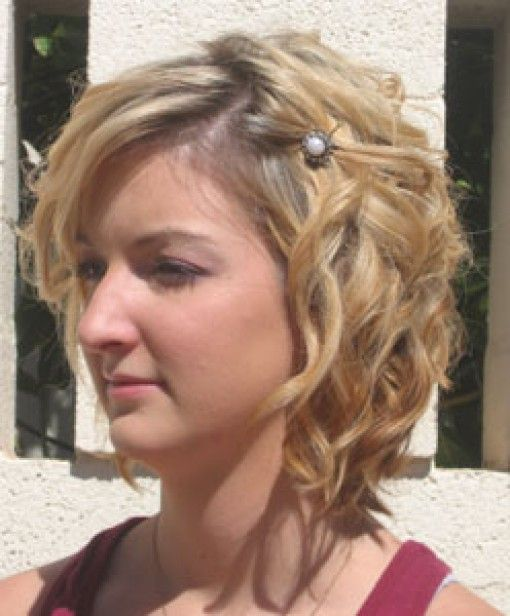 Short Curly Hairstyles For Prom : 43 best cabelos curtos cacheados images on pinterest