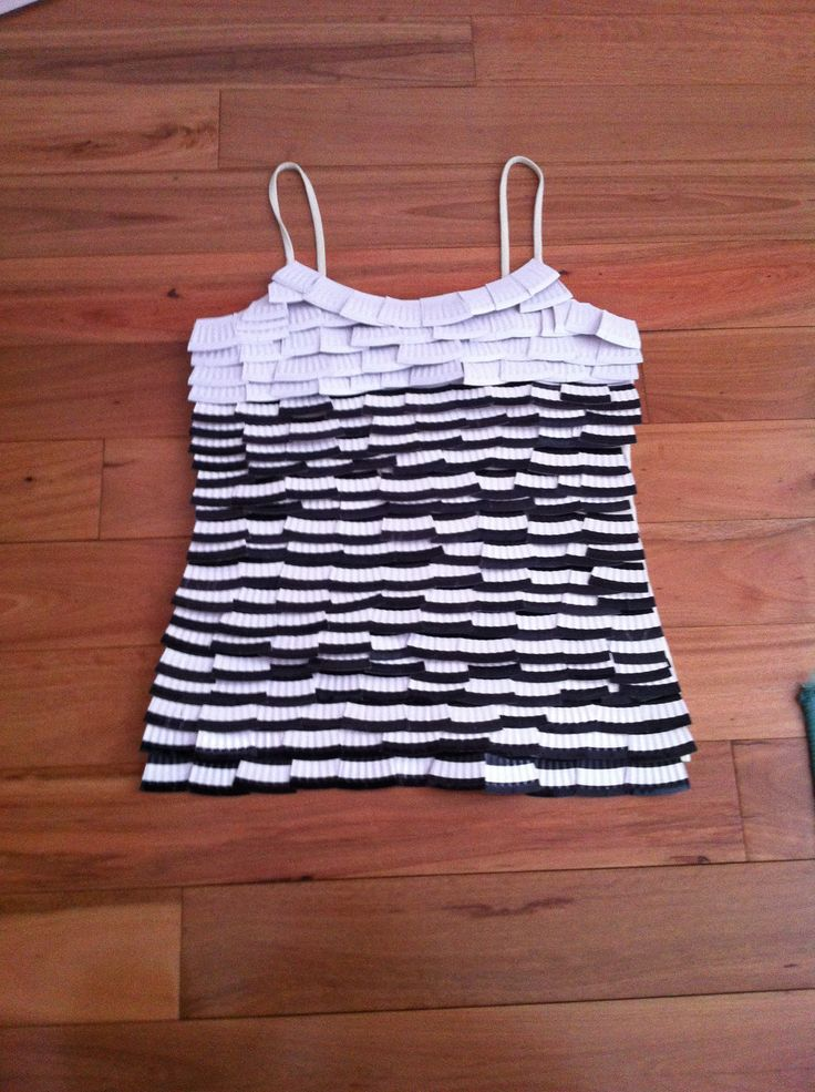I have made this shirt from using recycled paper plates that I have glued on & 50 best recycled dress images on Pinterest | Recycled dress Paper ...