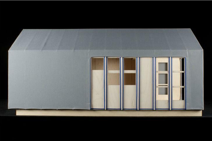 Liina Transitional Shelter-Aalto University Wood Program
