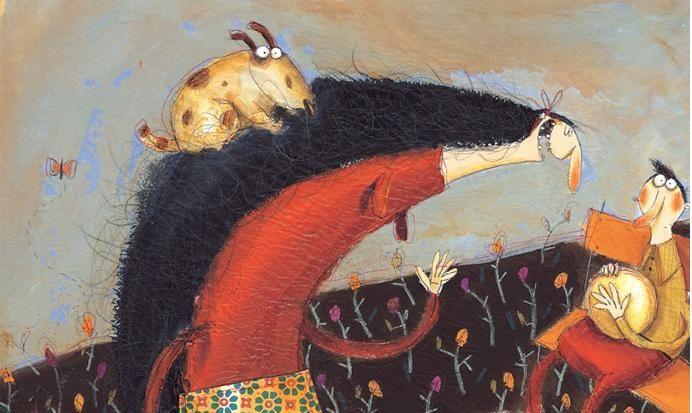 CHILDREN'S ILLUSTRATION: Anna Laura Cantone
