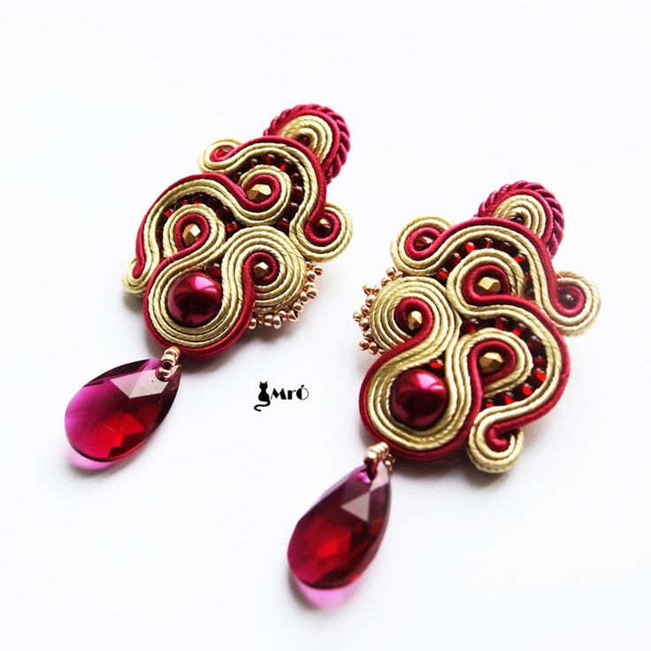 Bridget Soutache earrings Charming and ellegant por MrOsOutache
