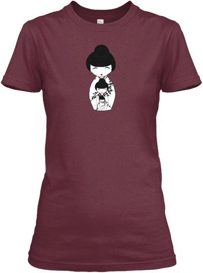 something new for women...Japanese nesting doll T-shirts