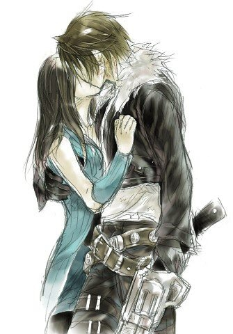 Geeky : Final Fantasy : Squall and Rinoa : Fan Art