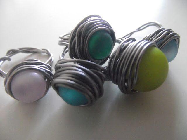 Modeschmuck selber machen  Die besten 25+ Ringe selbst machen Ideen auf Pinterest | Schmuck ...