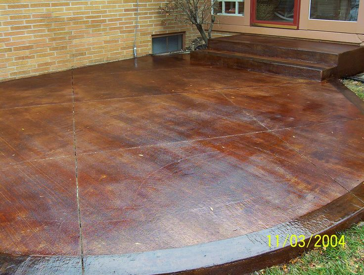 Concrete Stain Patio Stain Group Picture Image By Tag