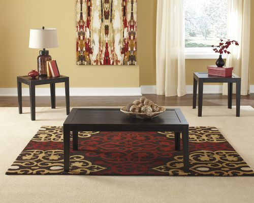 Ashley Furniture 3 PC Traditional Coffee & End Table Set 01T227-13