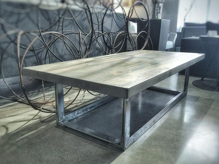 statuswood reclaimed wood furniture San Francisco   wood conference ta    Tables. 12 best industrial desk images on Pinterest   Kitchen tables
