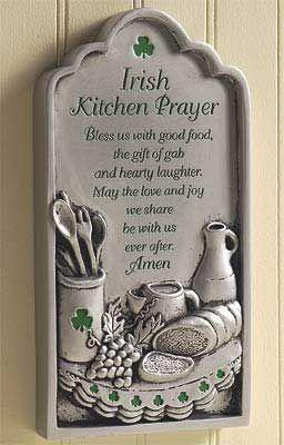 Kitchen prayer ...