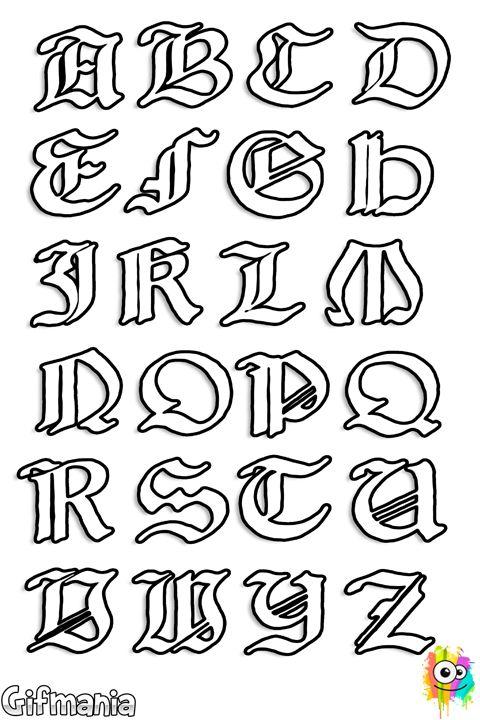 Letras medievales | patrones