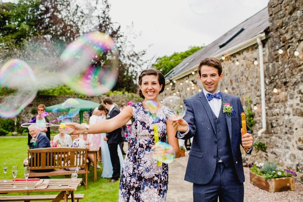 Sunshine & Smiles: A Fun-Filled Wedding at Home