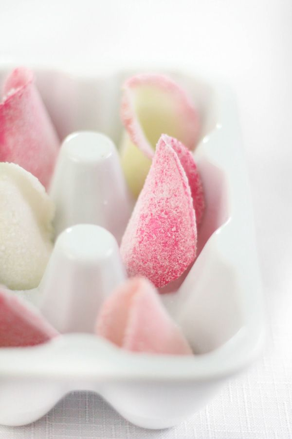 A cute gift for someone special. :) Candied rose petals by @Heather Baird