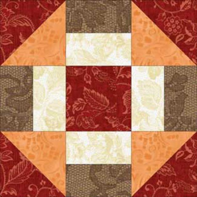 Beginner Friendly Grecian Square Quilt Block Pattern
