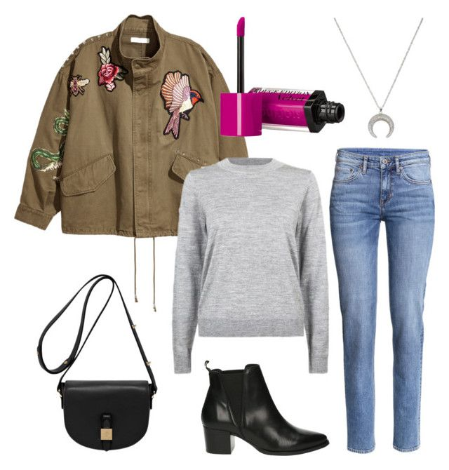 """""""Untitled #242"""" by stinasolheim on Polyvore featuring Privé, Jakke, Bourjois and Mulberry"""