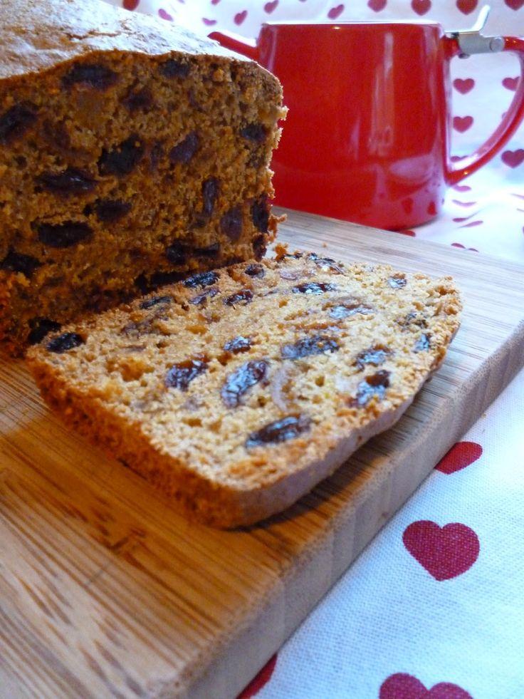 Earl Grey Fruit Tea Loaf Recipe for  October 2014's 'Dark' themed Love Cake.