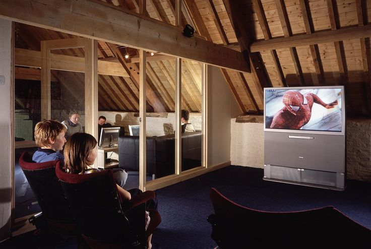 Upstairs cinema and gaming for the children (and sometimes mums & dads too ;)) in the Playzone at Calcot Manor Hotel & Spa http://www.calcotmanor.co.uk/for-families/