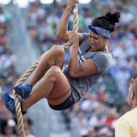 you go girl! Crossfit games!