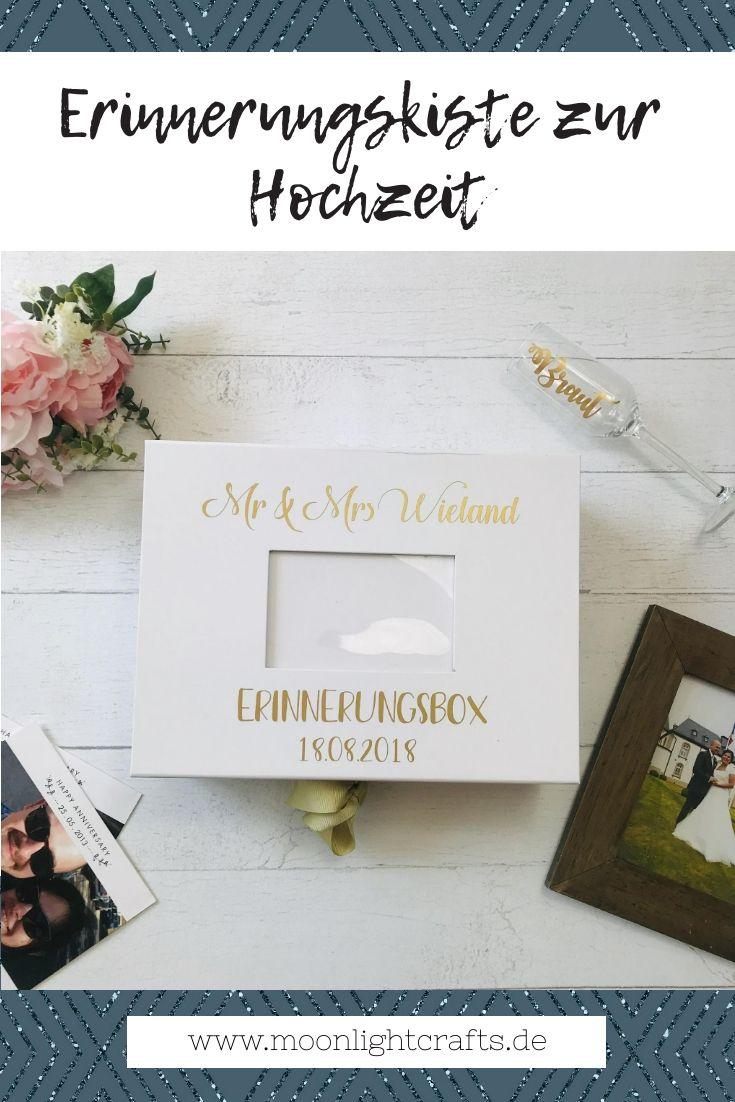 Erinnerungsbox Erinnerungskiste Hochzeit Foto Personalisiert Nach Wunsch Hochzeitsgeschenk Personliches Hochzeitsgeschenk Geschenk Hochzeit