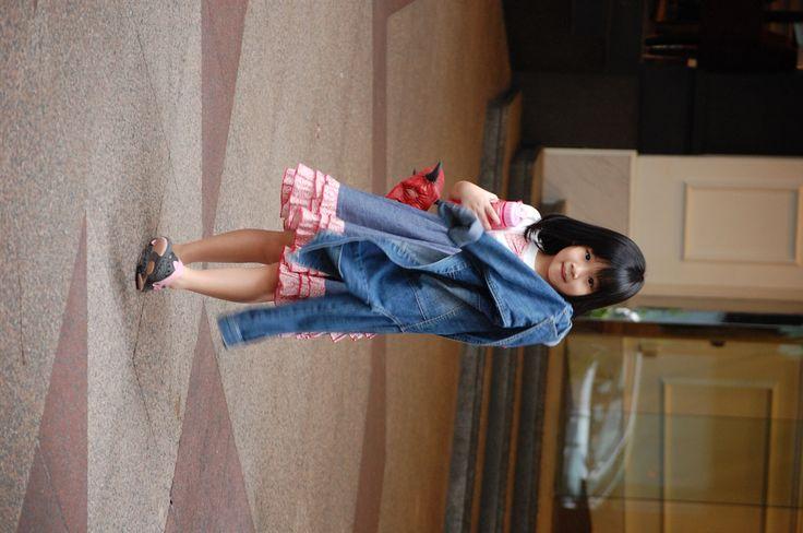 Little girl in Singapore