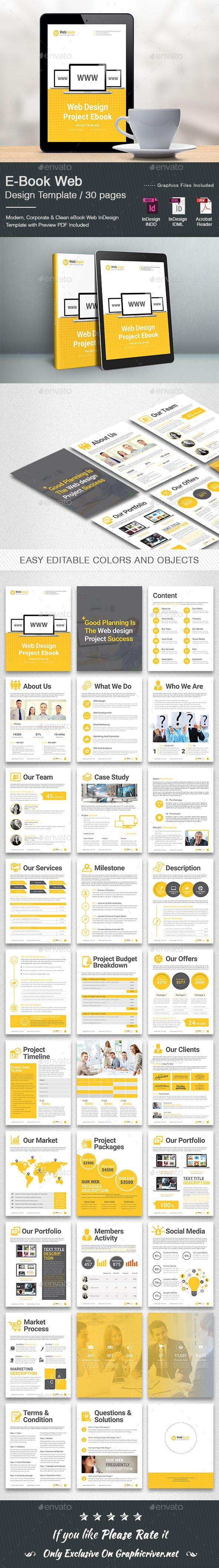 E-Book Web Design