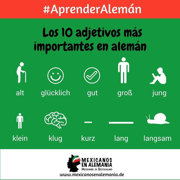 #AprenderAleman #Aleman #Adjetivos
