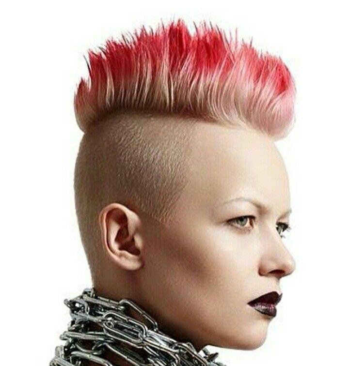 Punk rock hair style  hair colors 2019  Haare und