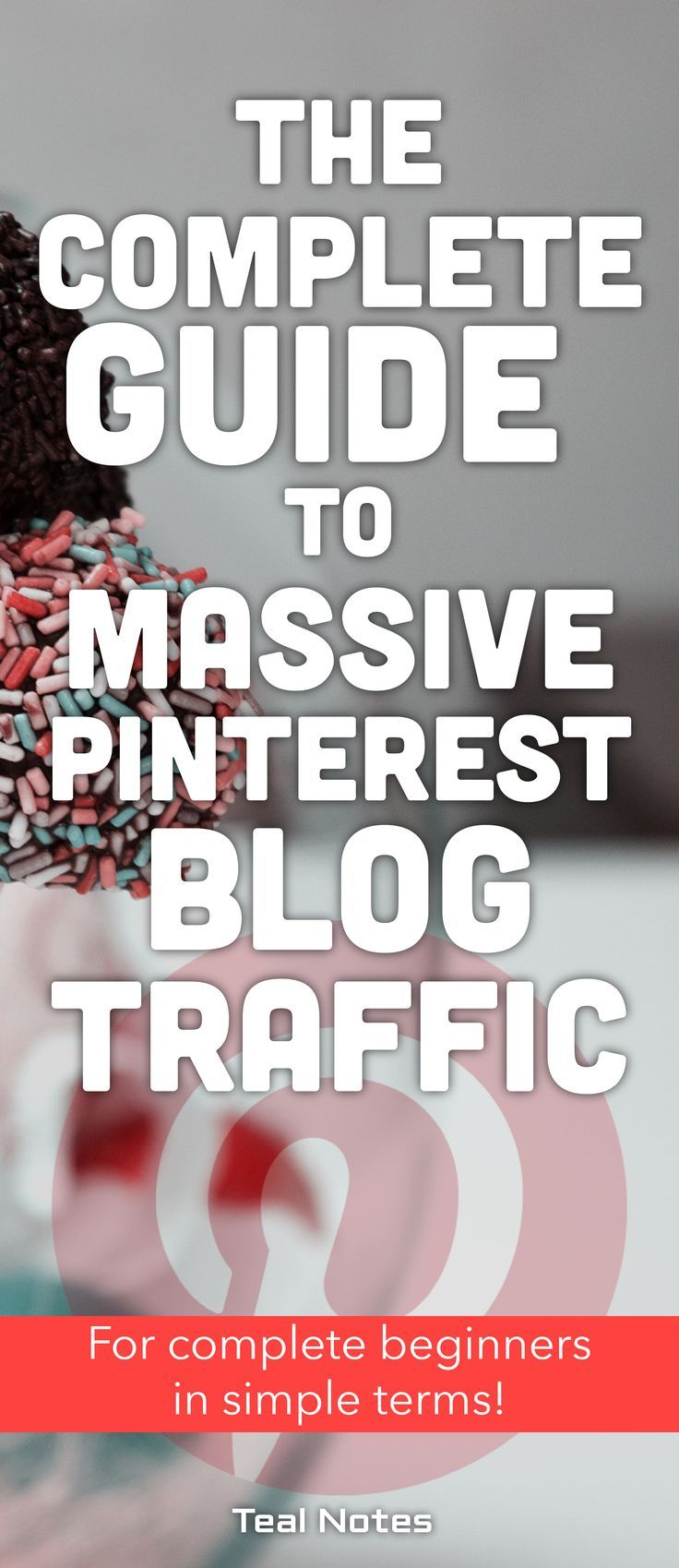 Do you want an avalanche of page views and blog traffic for your new blog? Pinterest traffic is where you should be focusing your energy! Learn how to use Pinterest to increase blog page views and be more findable on search engines with Pinterest SEO. Get the latest tips and tricks to grow your business blog and make money. Pinterest Blog Traffic | Teal Notes | Make Money Blogging |