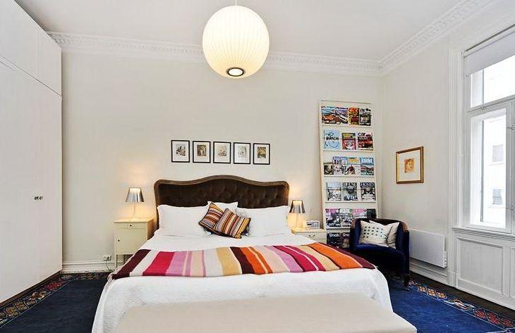 Воображения будоражат идеи по переделки спальни в белых тонах.