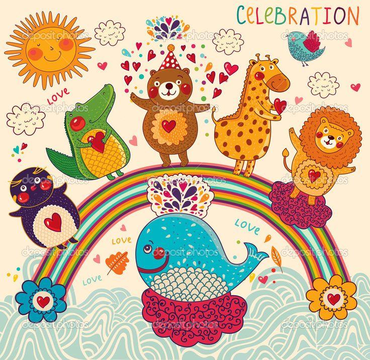 http://st.depositphotos.com/1700111/1271/v/950/depositphotos_12718115-Background-with-funny-animals.jpg