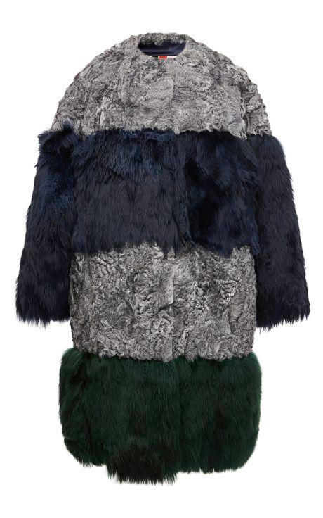 Astrakhan And Alpaca Coat by MSGM - Moda Operandi