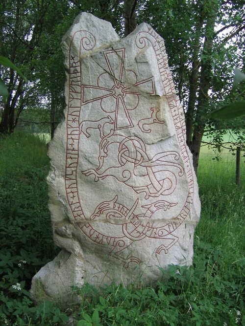 The Lingsberg Runestone (Sweden)