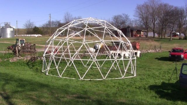 Geodesic Dome for Drone Testing and Spider Habitat Research - Middle Tennessee State University (MTSU)