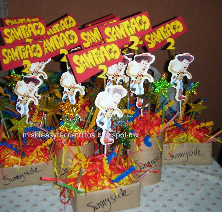 Centros de mesa toy story para fiestas infantiles fotos - Fiestas infantiles ideas ...