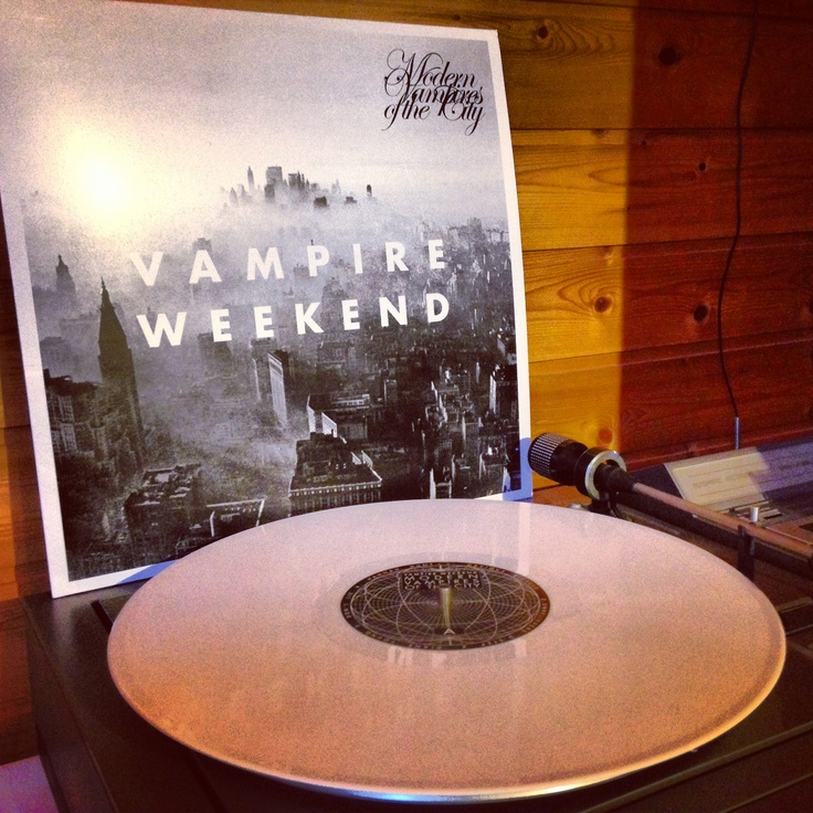 Vampire Weekend White Vinyl
