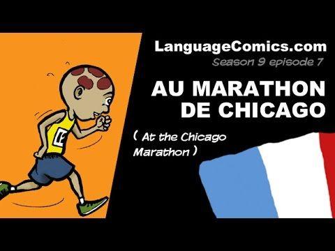 Comic in French ~ S9e7 - Au Marathon de Chicago