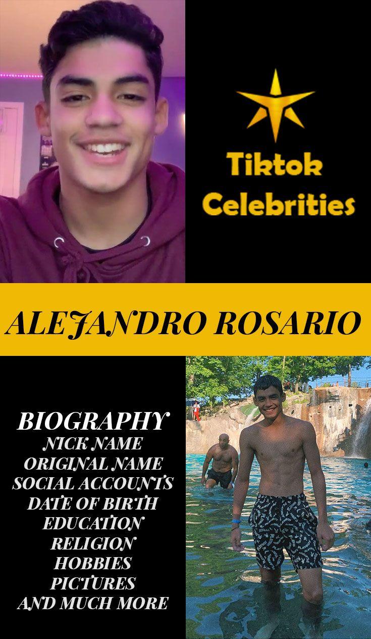 Alejandro Rosario Biography Birth Education Social