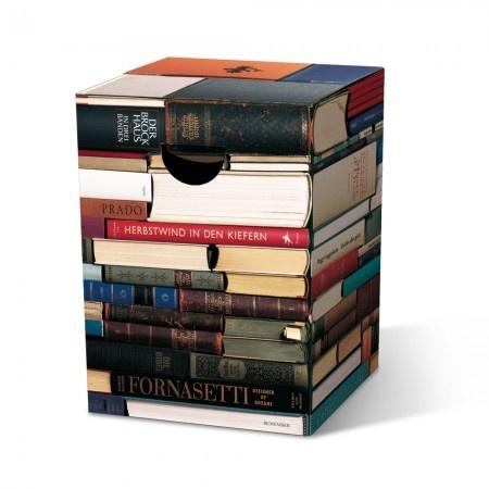 """Papphocker im Buch-Design """"Leseratte"""" 16,90€"""