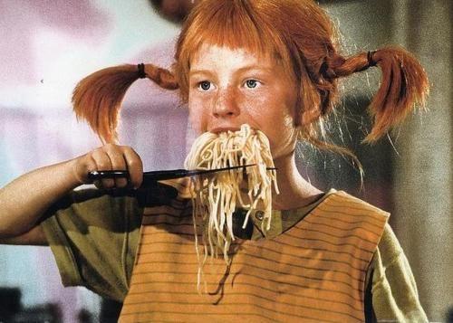 Men snälla Pippi, en fin dam petar inte i näsan på det där sättet! (Lady Dahmer…