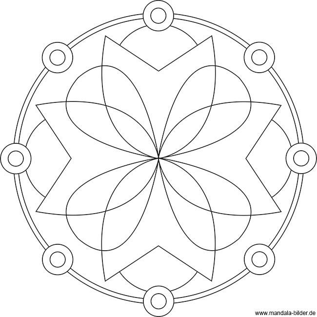 Mandala vorlage f r erwachsene und senioren zum ausdrucken for Mosaik vorlagen zum ausdrucken