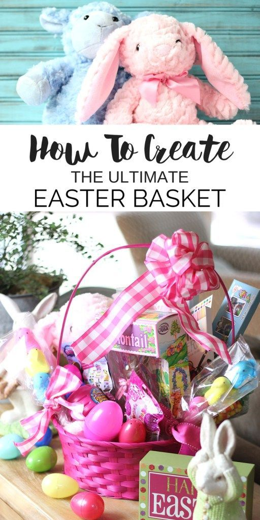 Easter Basket ideas to help you Create the Ultimate Easter Basket Kids Love! | Easter DIY Tutorial
