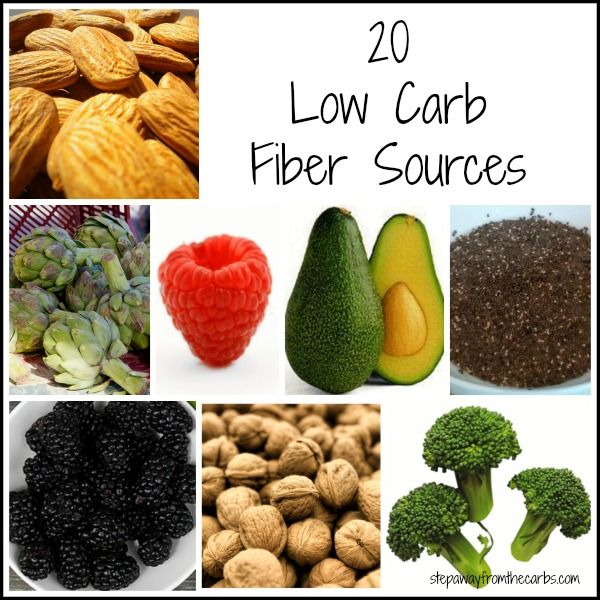 These 20 low carb fiber sources will help you make healthy balanced choices while maintaining your low carb lifestyle.