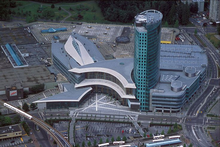 Central City plaza and forecourt, Surrey, BC