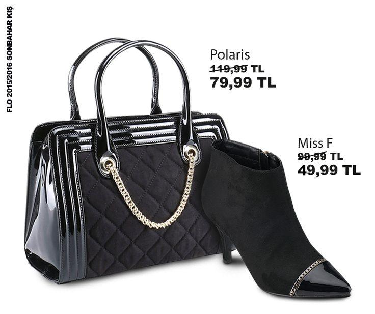 Minimal dokunuşlarla klasik siyah şıklığı... #AW1516 #newseason #kış #winter #yenisezon #fashion #fashionable #style #stylish #flo #floayakkabi #shoe #ayakkabı #shop #shopping #women #womenfashion  #trend #moda #ayakkabıaşkı #shoeoftheday